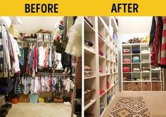 18 Ways to Keep your Home Organized and Neat - Fine Living Advice Kitchen Pantry, Walk In Closet, Diy Home Improvement, Home Organization, Living Spaces, Home And Garden, Home Decor, Cleaning, Plantation