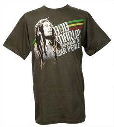 The Giant Peach - Bob Marley - Movement Men's Shirt, Army Green, $10.00 (http://www.thegiantpeach.com/bob-marley-movement-mens-shirt-army-green/)