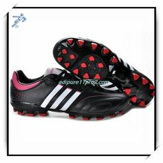 Special Edition Football Shoes Uchida Adidas Adipure 11Pro 2 TRX AG Black Infrared White