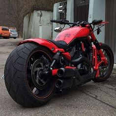 Red Custom Harley                                                                                                                                                                                 More