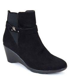 Loving this Black Veronica Bootie on #zulily! #zulilyfinds