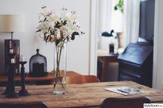 dekoration,matbord,matplats,blommor,stolar