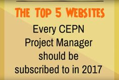 The Top 5 Websites for CEPN Project Managers