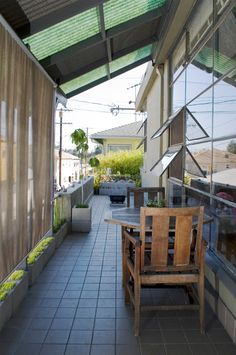 Sneak Peek: Sarah Kissel & Gregory Hubacek (Design*Sponge) | Who said an apartment can't have a spacious outdoor retreat??