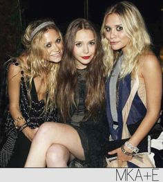 Ok I'll admit it, i love Mary Kate and Ashley Olsen! I love their style and their cute little faces!