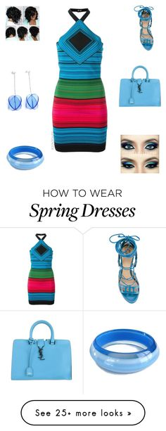 """""""Color"""" by irockcrowns on Polyvore featuring Balmain, Paula Cademartori and Yves Saint Laurent"""
