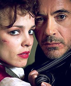 Adler and Holmes (Rachel McAdams and Robert Downey Jr. Sherlock Holmes Robert Downey, Sherlock And Irene, Sherlock Holmes 3, Watch Sherlock, Robert Downey Jr, Love Movie, I Movie, Warner Bros Movies, Holmes Movie