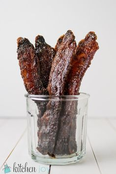 Candied Bacon - Kitchen Joy