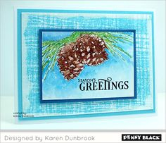 Another fabulous friend has found her way to our blog this Friday! Welcome, Karen Dunbrook! Karen's cards are classic, simple, and artful at the same time. It is an honor to have her join us today....