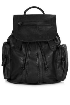 Perforated Backpack - Bags & Wallets  - Bags & Accessories