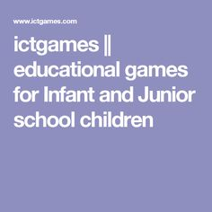Free educational games aimed at children between 5 and 8 years old. Made by a UK teacher with 20 years of experience in education. Math Websites, Teacher Websites, Educational Websites, Online Math Courses, Learn Math Online, Ict Games, Literacy And Numeracy, School Children, Kids