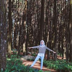 Dancing in the forest