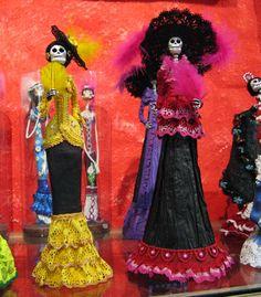 catrinas | paper mache | Oaxaca