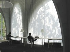 Tama Art University Library by Toyo Ito. Who can resist to read in a place like this?