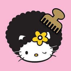 Afro Hello Kitty!