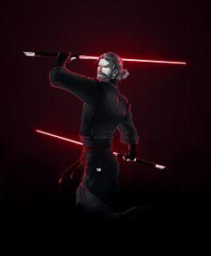 Jar'Kai Sith Assassin Obi-Wan by croaky on DeviantArt