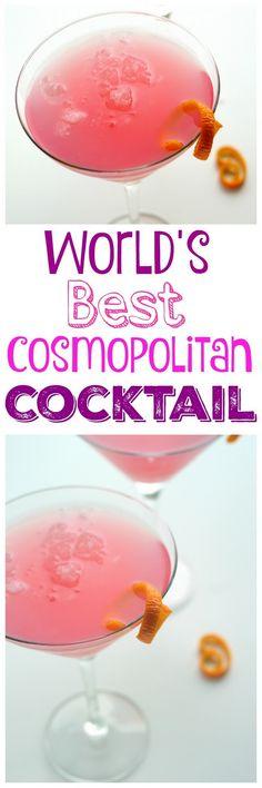 World's Best Cosmopolitan Cocktail