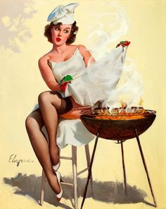 Gil Elvgren (via Pin Up and Cartoon Girls)