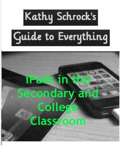 iPad resources for the secondary and college levels. Instructional Coaching, Instructional Technology, Educational Technology, Instructional Strategies, High School Classroom, Flipped Classroom, Teaching Kids, Teaching Resources, Problem Based Learning