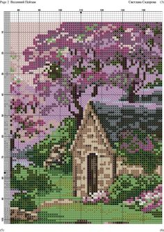 Весенний Пейзаж -002