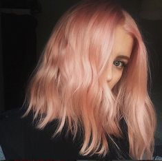 """Blorange"" Is The Latest Hair Color Trend To Sweep Instagram — & It's Even Better Than Rosé #refinery29  http://www.refinery29.com/2017/01/136926/blorange-hair-color-trend#slide-8  This faded option is cotton candy hair perfection. ..."