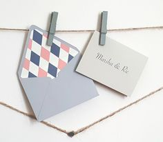 Mini grey personalized gift cards with lined by courtlyniverson mini navy peach personalized gift cards with by courtlyniverson negle Images