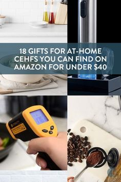 Gifts for chefs on your holiday shopping list that won't break the bank! Here's all the coolest cooking stuff Amazon has to offer this holiday season.