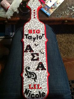 eyes0without0a0face:    The paddle I made for my Big :)