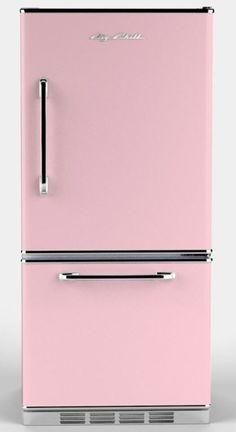 Pink refrigerator :)