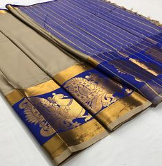 Blue Cotton Silk saree with Rich Mayurika Border – sf000473 Fabric : Cotton Silk Color : Blue Length – 5.50 Meter & 0.8 Meter Blouse Package Content : 1 Saree With 1 Blouse Piece Work : Weaving Product color may slightly vary due to photographic lighting sources or your monitor settings. Wash Care : DRY CLEAN ONLY International shipping is available Contact us / whats app us : +91 9725728989