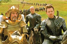 King Brahmwell ( Ian McShane) Elmont (Ewan McGregor) Jack the Giant Slayer