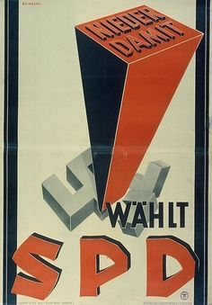 SDP election poster