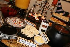 Fun food names for Halloween party food!