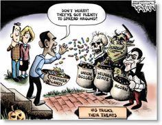 political halloween cartoons - Bing Images
