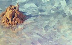 Low-Poly-Non-Isometric-Worlds-Timothy-Reynolds-8.jpg 575×359 pixels