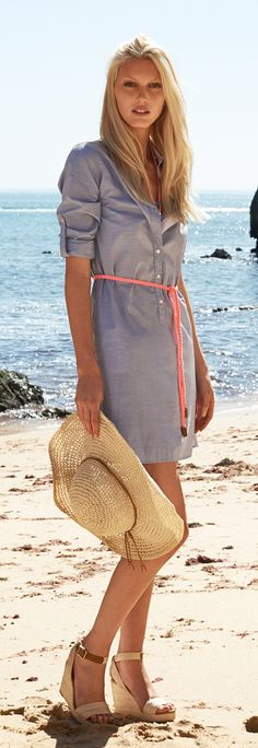 Celebrate Summer - very simple #preppy look by Tommy Hilfiger :)