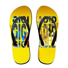 MEIDINGT Women's Or Men's Unisex Gigi Hadid Flip Flops -- Check out this great product.