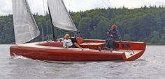 Berckemeyer Yacht Design | plans for modern and classic sailing yachts    LA 28 Daysailer