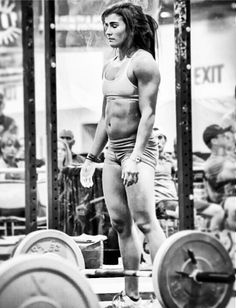 """crossfitters:  Lauren Fisher:""""Visualize your goal as reality every day. Make it real in your imagination, and you will make it real in your..."""