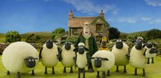 5 Childhood Favorites You Didn't Know Were Being Revived in 2015 - Shaun the Sheep #movies