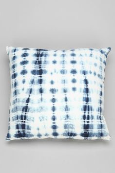 noodle shibori stripe cushion