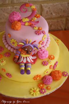Piece of Cake: Upsy Daisy Birthday - Real Party Feature Second Birthday Cakes, Birthday Ideas, Daisy Cakes, Garden Cakes, Night Garden, Sugar Craft, Piece Of Cakes, First Birthdays, Cake Ideas