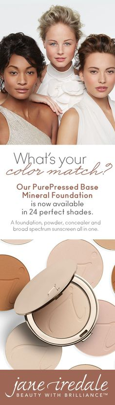 Cruelty free, oil free, and free of synthetic chemicals. Let our mineral foundation free your skin. PurePressed® Base Mineral Foundation now comes in 24 shades of beautiful.