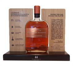 Bourbon Whiskey Countertop Display