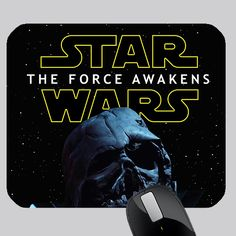 awesome STAR WARS THE FORCE AWAKENS PHOTO MOUSE PAD