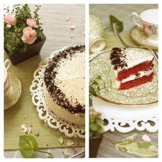 Red velvet oreo cake..yummie