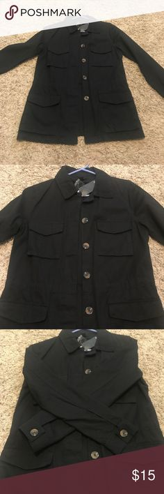 NWT Black Casual Jacket •Brand new with tags •Black Casual Jacket •Forever 21  •Size S Forever 21 Jackets & Coats