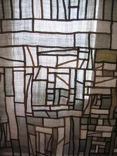 Jung Yul Park, pojagi artist, master of traditional Korean embroidery. Design Textile, Art Textile, Textile Fabrics, Textile Artists, Textile Patterns, Fabric Design, Sculpture Textile, Textile Texture, Thinking Day