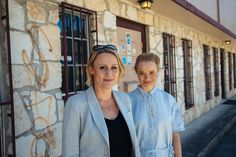 SCHEDULED 3/16: In Austin this week, we're catching up with creators who are in town for SXSW. This is a photo of filmmakers Sophie Robinson and Lotje Sodderland, co-directors of My Beautiful Broken Brain. The film