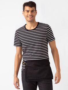 Keep it genuine 'Utility' with our Utility Toolbelt Pouch Apron in Black, creating a strong statement as the essential half apron for the hospitality and retail scenes Gardening Apron, Gardening Tools, Cafe Uniform, Bib Apron, Aprons, Cafe Apron, Tool Belt Pouch, Staff Uniforms, Apron Pockets